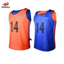 2016 New Design team basketball jerseys Adult Reversible basketball shirt