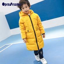 Boys jackets brand children outerwear fashion boys&girls winter coat long sleeve boys winter jackets windproof  kids clothes