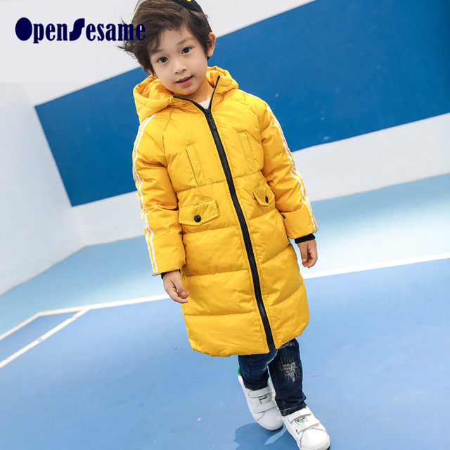 Boys jackets brand children outerwear fashion boys&girls winter coat long sleeve boys winter jackets windproof  kids clothes