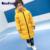 Meninos jaquetas da marca casacos crianças moda boys & girls casaco de inverno meninos de manga longa casacos de inverno à prova de vento roupa dos miúdos