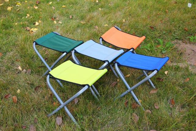 Beach Camping Portable Folding Chair Fishing Stool Seat Fabric Chairs Various Styles Of Type Durable Fork