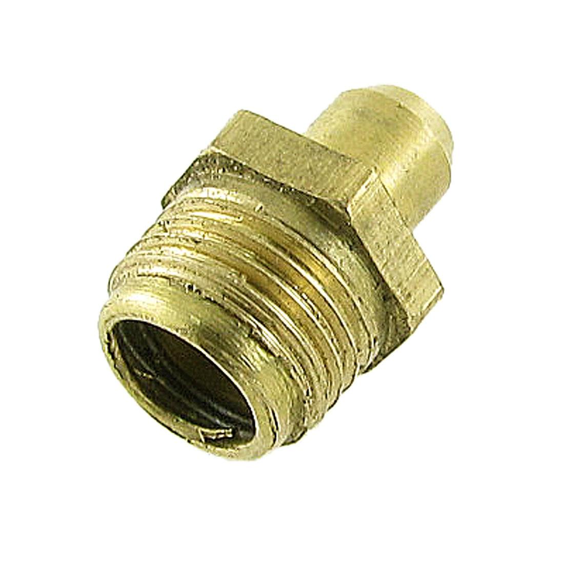 X Autohaux Brass Male Thread 10Mm M10 Straight Hydraulic Grease Nipple
