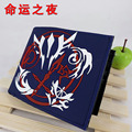 Anime Fate/stay Night/Fate/Zero Blue Silica Short Wallet Waterproof Purse