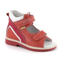 Een gespecialiseerde collectie van Skorokhod schoenen voor kinderen hoge hak is de boog ondersteuning Orto lederen