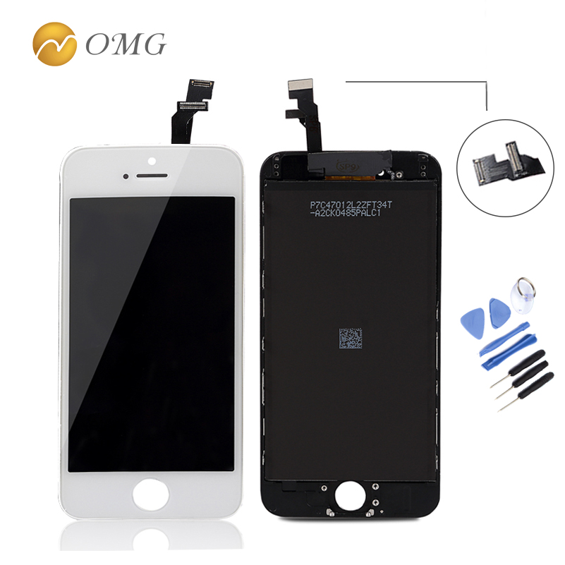 ФОТО OMG AAA Replacement mobile phone LCD Screen For iPhone 6 4.7 inch Display With Digitizer Touch smart phone Screen Assembly