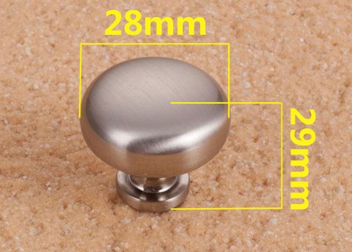 5 stücke 28mm Runde Cabinet Knob Drawer Zug handgriff Küchentür ...