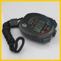 бесплатная доставка новый хронограф цифровой таймер секундомер счетчик наручные часы d10001