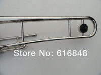 оптовая продажа-3 ключ тенор тромбон 85 Saw medi Speaker покрытие никель цвет