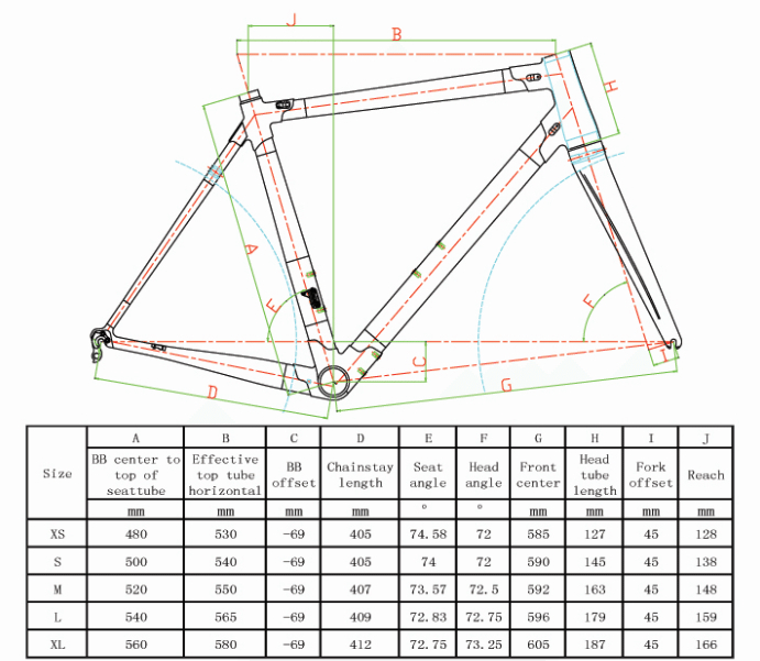 New White Colnago C60 Frame Carbon Bicycle Frameset Road Bike Frame ...