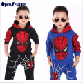 Spiderman Children Boys Clothing set Baby Boy Spider man Sports Suits 2-11 Years Kids 2pcs Sets Spring Autumn Clothes Tracksuits