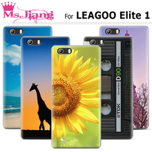 Hight Quality Painting Case for Leagoo Elite 1 case Hard plasitc cover Fashion Colorful Printed Drawing Case for Leagoo Elite 1