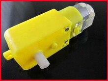 Free Shipping!!! 5pcs Smart car gear motor / robot motor / power supply 3V-9V Available module sensor /Electronic Component