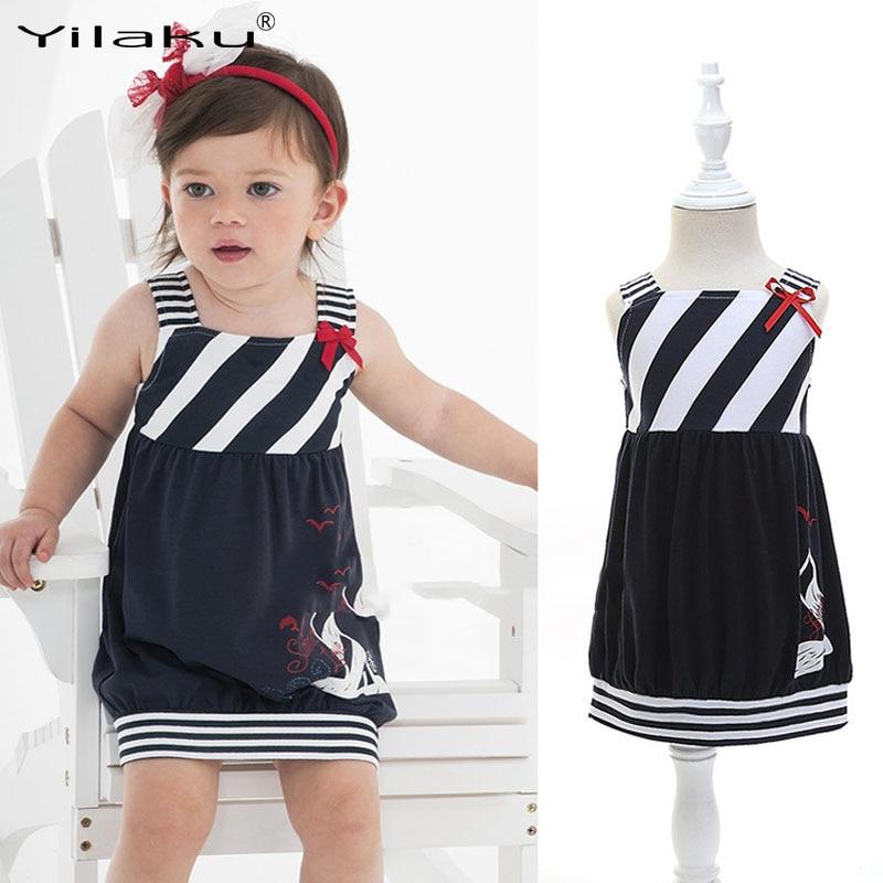 Yilaku Girl Dress Ամառային Աղջիկներ Զգեստներ - Մանկական հագուստ