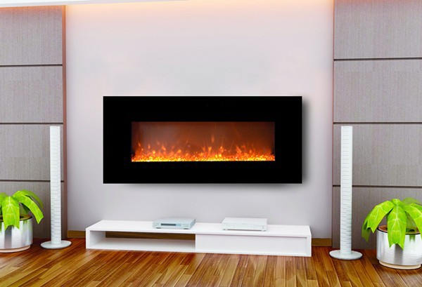G 01 Wall hanging fake electric fireplace/ decor flame electric ...