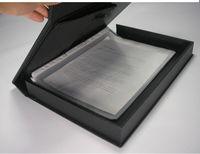 одетый клетку А4 файл коробка чехол Дата документов организатор с Сербии-клип черно-цвет 1280