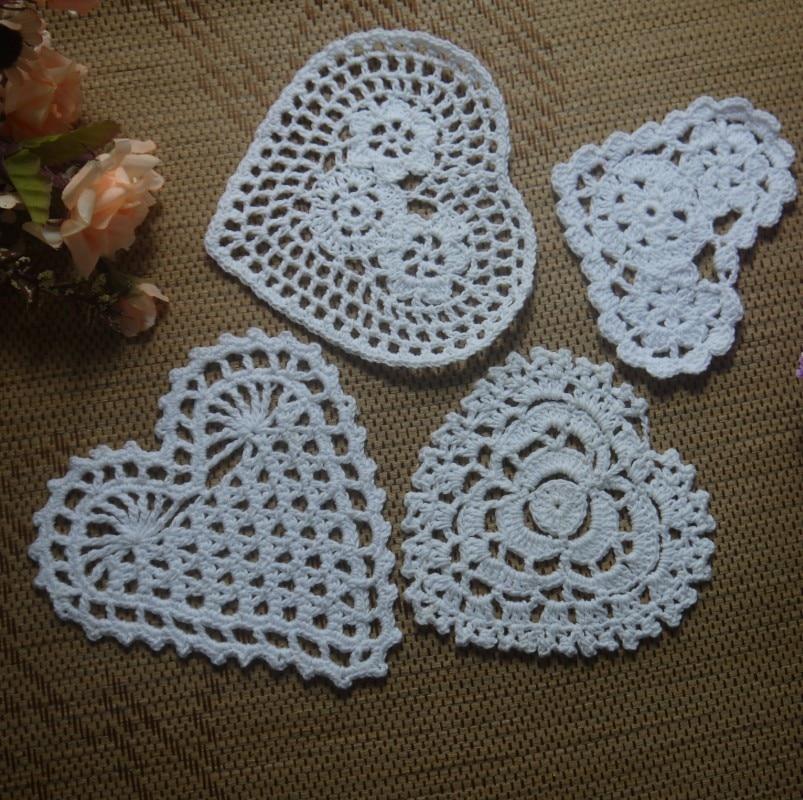 Envío gratis cada diseño 20 unids en forma de corazón patrón de ...