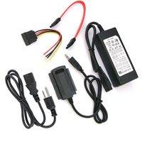 бесплатная доставка + H + порт USB 2.0 для SATA и IDE и кабель питания адаптер для жесткого диска
