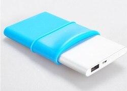 NEW Silicon Case for Xiao MI MIUI 5000mAh Power Bank  For Xiaomi Power Bank Soft Colorful Case Power Bank Protector