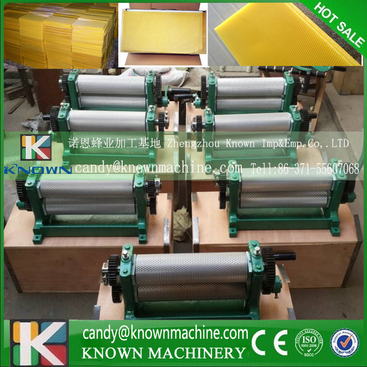 86*310mm rollers size High Quality Manual Bee Wax Foundation Sheet Mills Machine 86 250mm competitive price bees wax foundation machine