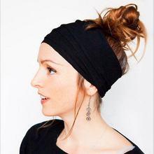 Повязка для волос эластичная Женская Модный хлопковый бандаж