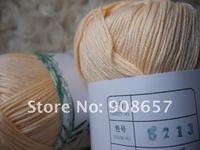 Новый 4 * 50 г мотков натуральный бамбук хлопок вязание пряжи спорт вес 200 г красный, синий, оранжевый, черный, фиолетовый, розовый, 125мм, и т. Д