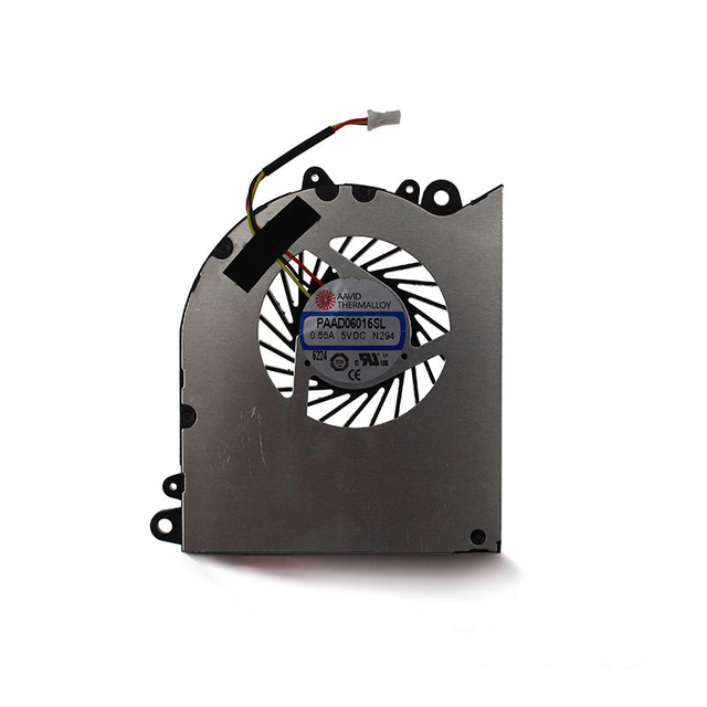 NEW For AAVID THERMALLOY PAAD06015SL 5VDC 055A N294 3 Pin CPU Cooling Fan Cooler Laptop