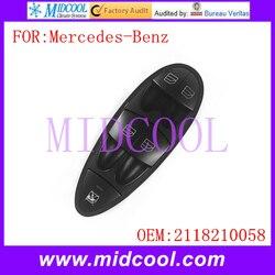 Nowy automatyczny podnośnik główny przełącznik okna elektrycznego użyj OE nr 2118210058 dla mercedes-benz