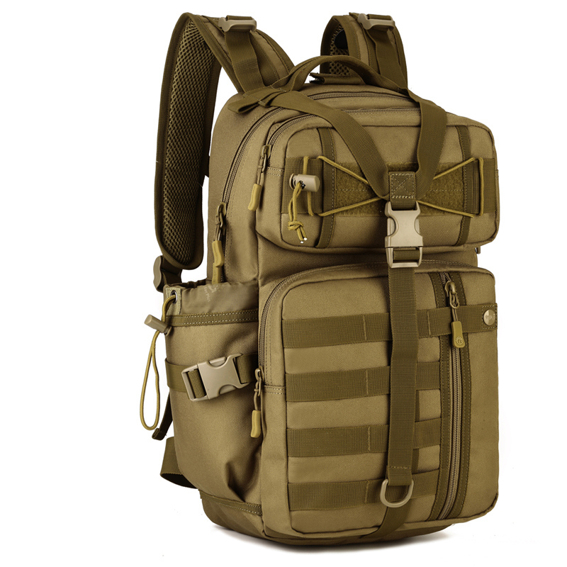ФОТО Men Military Backpacks Male Multifunction Nylon Casual Travel Rucksack Women Laptop Back Bag Camouflage School Bags Teenagers