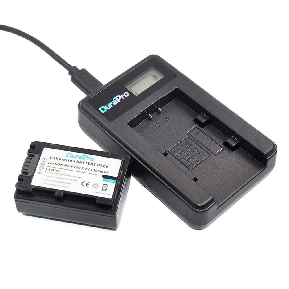 Durapro 1pcs Np Fv50 Npfv50 Np Fv50 Rechargeable Camera