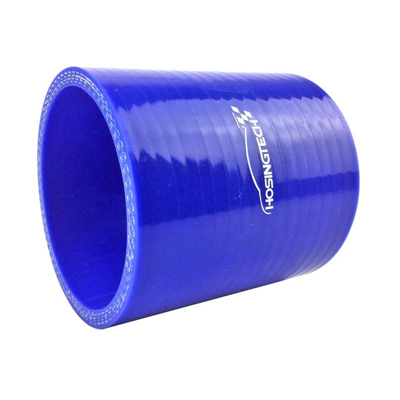 """BLUE 3.5/""""-3/"""" 89-76mm 3-ply Silicone Reducer Hose Turbo Intake Intercooler AC"""