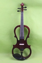 New 4 string 4/4 Electric violin Solid wood hand add fret electric violin