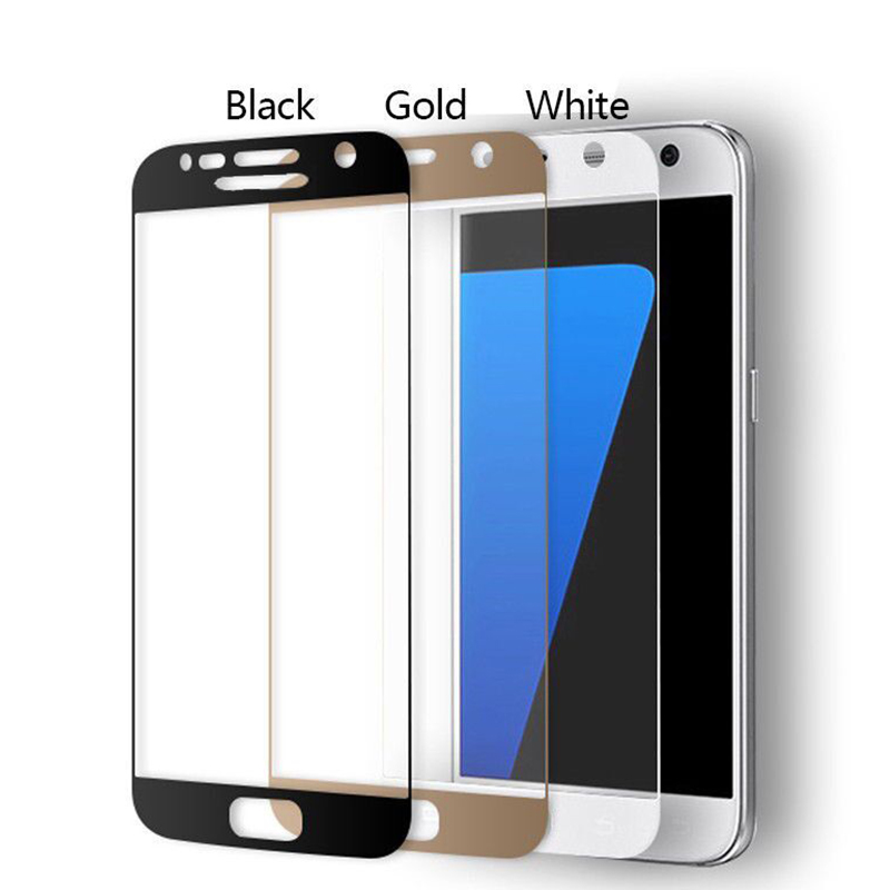 New Premium 2.5D Surface Full Coverage Tempered Glass Screen Protector Film For Samsung Galaxy S7 G9300