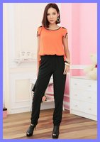 бесплатная доставка двусторонняя сочетает для женская мода брюки большой размер летняя одежда оптовая продажа qlixiou2397