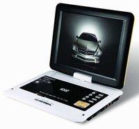 5 шт./лот горячая распродажа 12 дюймов портативный ДВД плеер с тв-порт USB и чтения карт