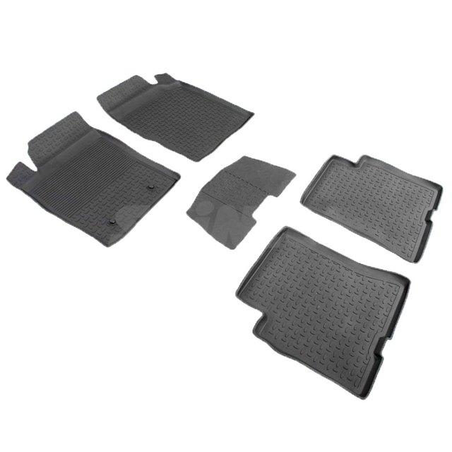 Резиновые коврики для Dong Feng H30/H30 Cross (2014-) с высокими бортиками (Seintex 85817)