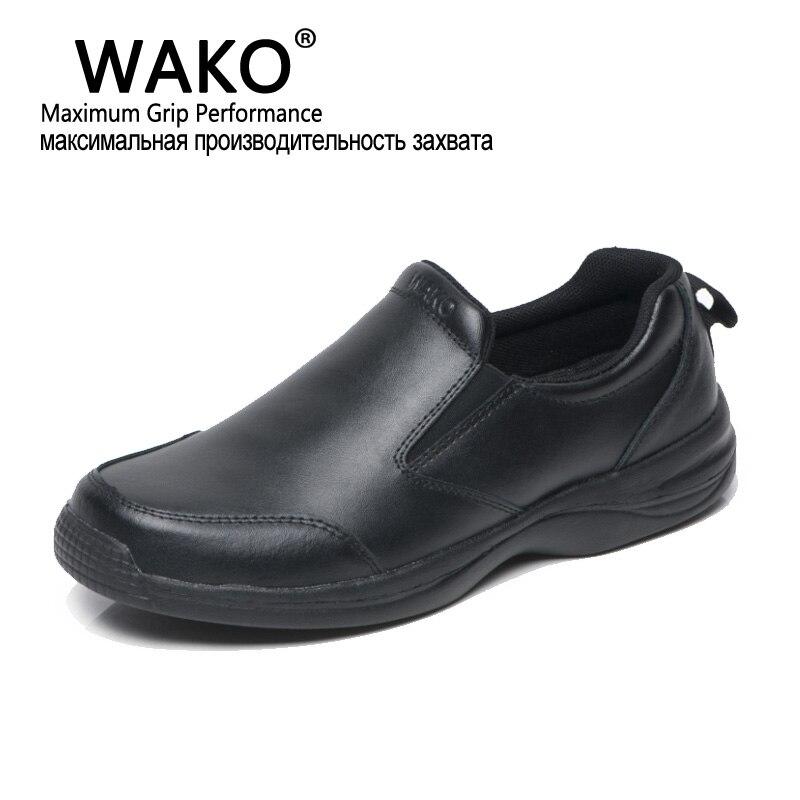 più recente design raffinato in magazzino WAKO Chef Professionista Lavoro Anti slip Scarpe Da Uomo Cuoco ...
