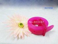 сильные качества! охраны окружающей среды мода парфюм тпэ силиконовой резины ремень мужская конфеты цвет пояса 3.0 см бесплатная доставка