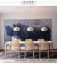 Современный Подвесной Светильник Pensonal Творческий Серебряный Туман Сотовые Форма Ресторан Свет КАФЕ Свет D360MM Бесплатная Доставка
