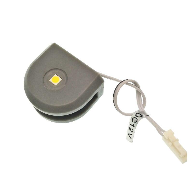 12 шт./лот 0.7 Вт СИД полка шкафа свет/мини-встраиваемые освещения внутри шкафа/гостиных/спальня LED Мебель лампы
