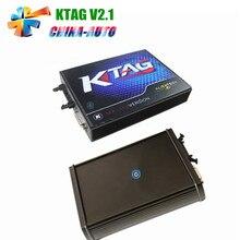 2016 Top Verkauf KTAG V2.1 Kein Token Begrenzte K TAG Master ECU Programmierung Chip Tuning Tool K-TAG Unterstützung Multi-marke Autos