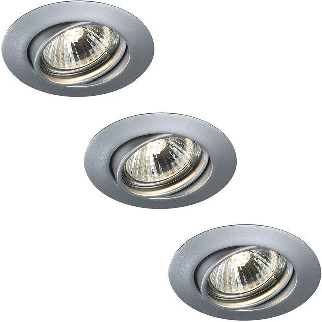 Spotlight OPAL recessed chrome 3x50W Massive 593334810