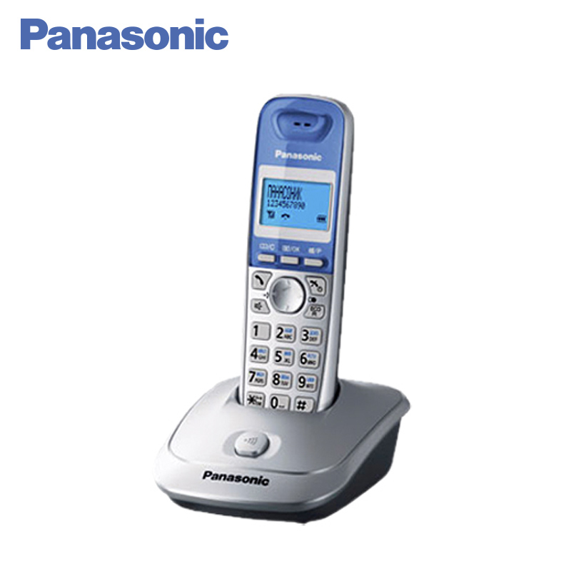 Panasonic KX-TG2511RUS DECT phone, digital cordless telephone, wireless phone System Home Telephone. free shipping brand new 7 inch color home video intercom door phone system 3 white monitors 1 doorbell camera in stock wholesale