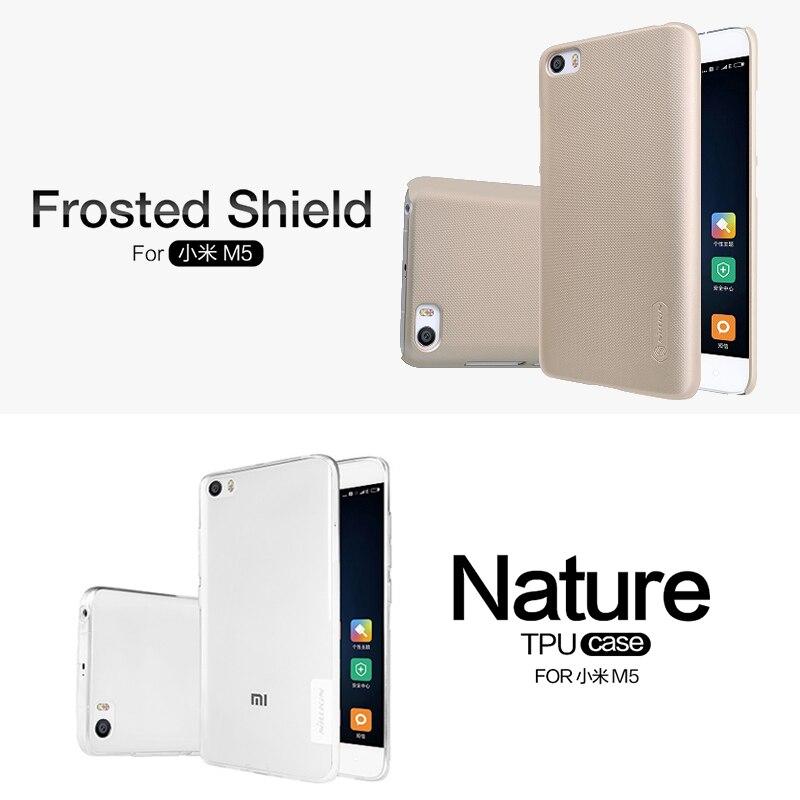 for xiaomi mi5 5 15 inch NILLKIN vintage qin flip case sparkle flip case Frosted PC
