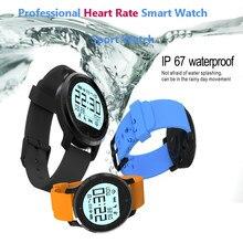 2016ใหม่สมาร์ทนาฬิกาF68กีฬานาฬิกาโทรศัพท์หัวใจออกกำลังกายติดตามเพื่อสุขภาพสมาร์ทนาฬิกาr eloj inteligenteสำหรับIOS A Ndroid