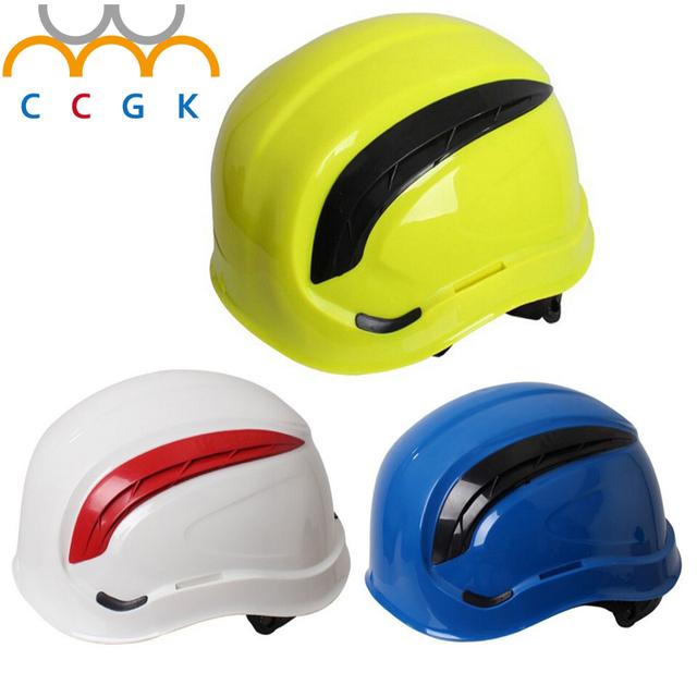 8-ponto de forro de tecido de Trabalho capacete anti-esmagamento ABS capacetes de verão protetor solar respirável moda personalizado