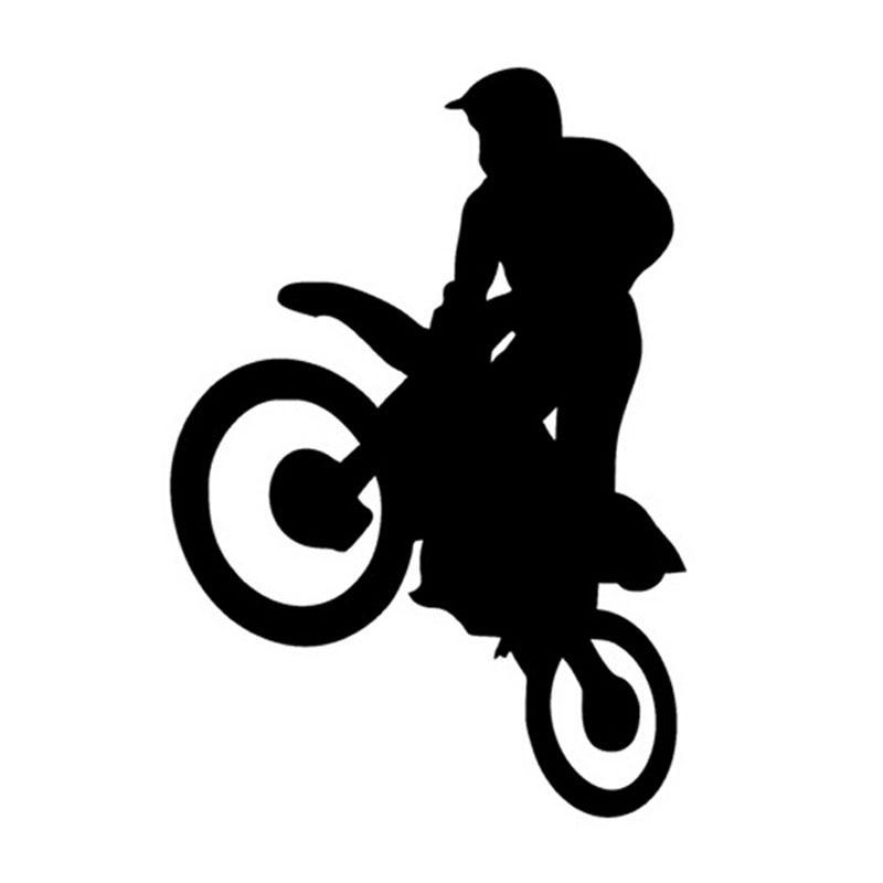 YOJA 11 * 16CM Sporto laisvojo motokroso motociklų lipduko automobilio dangčio įbrėžimai