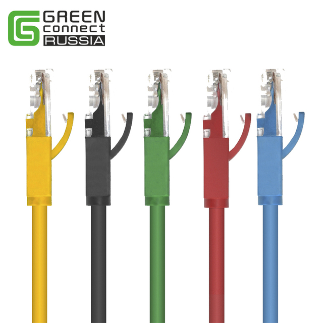Greenconnect New 0.5M 1M 2M 3M 5M 10M 20M Cat 6 Round UTP Gigabit Ethernet Network Cable RJ45 Patch Lan Cord for PC Laptop
