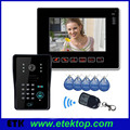 "Wholesale 9""TFT Large Screen Color Monitor Color HD Camera Home Security Video Door Bell Intercom DoorPhone"