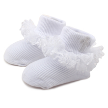Baby Lace Childrens Socks For 0-2 Years Old Girls Handmade High Quality Factory Price Wholesale