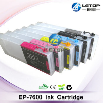 7600 Printer Ink Cartridge For Eco Solvent Printer